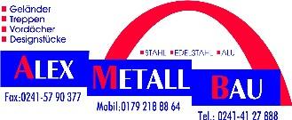 Firma AlexMetallBau aus Aachen