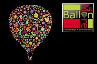 Logo der Firma Ballon & More, Ballonfahrten u. Ballonwerbung