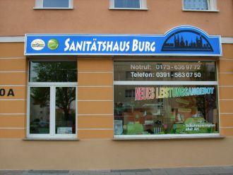 Firma Sanitätshaus Burg GmbH aus Aachen