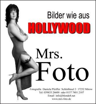 Mrs. Foto in Röbel