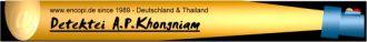 Firma Detektei Khongniam Deutschland & Thailand since 1989 aus Wesseling