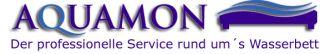 Logo der Firma AQUAMON Wasserbetten