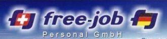 Logo der Firma free-job Personal- Arbeitsvermittlung Schweiz & Deutschland