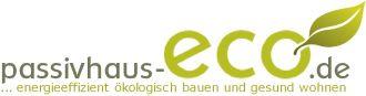 Logo der Firma passivhaus-eco, passivhaus holzhaus architektur