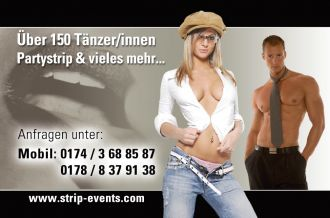 Agentur Show Strip Agency f.  NRW Bundesw in Duisburg