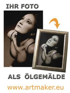 Firma Handgemalte Ölgemälde und Portraits nach Ihrer Fotovorlage als individuelles Geschenk aus Frankfurt (Main)
