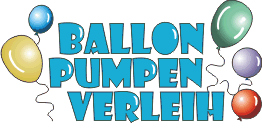 Logo der Firma Ballonpumpenverleih – Luftballonpumpen Verleih / Buttonmaschinen Verleih