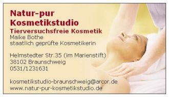 Firma Natur-pur Kosmetikstudio Braunschweig aus Braunschweig