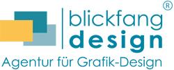 Logo der Firma blickfang-design Werbeagentur