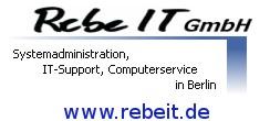 Firma RebeIT GmbH - Systemadministration aus Berlin