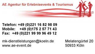 Firma AE Agentur für Erlebnsevents & Tourismus 210.000 Hotels weltweit zu Bestpreisgarantie aus Koeln