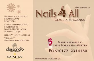 Nagelstudio Nails4All Claudia Boymanns in Bornheim