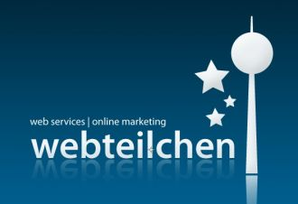Logo der Firma Webteilchen - Webdesign & Onlinemarketing