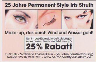 Firma Permanent Style aus Bergisch Gladbach