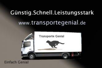 Firma Transporte Genial aus Muenchen