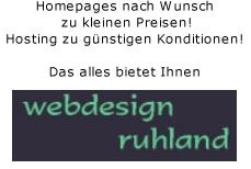 Logo der Firma Werbung mit webdesign-ruhland