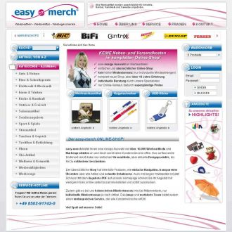 Firma easy-merch gmbh Werbeartikel aus Passau