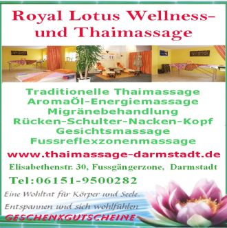 Logo der Firma Royal Lotus Wellness-und Thaimassage