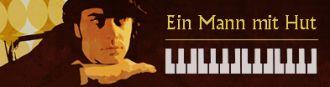 """Firma Barpianist """"Ein Mann mit Hut"""" aus Berlin"""