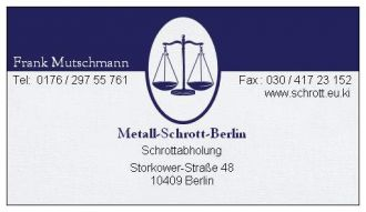Firma Kostenlose Schrottabholung Berlin Brandenburg Schrott Abholung aus Berlin