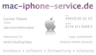 mac-iphone-service.de in Straubing
