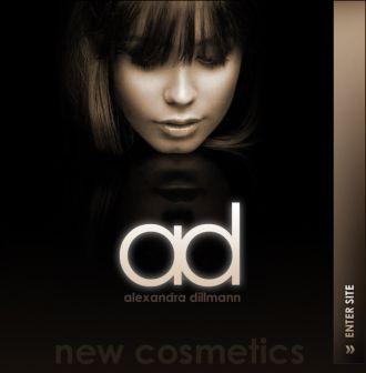 Logo der Firma AD new Cosmetics, in der Malhausapotheke Dauerhafte Haarentfernung & Fett weg mit Ultraschall