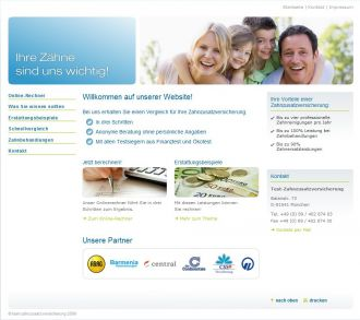 Firma Zahnzusatzversicherung im Vergleich und Test aus Muenchen
