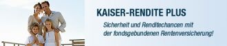 Kaiser Rendite Plus - die innovative Rentenversich in Hannover