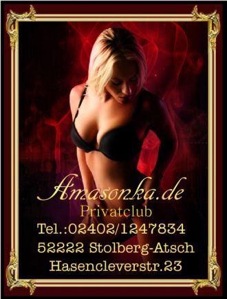 Firma Amasonka - Privatclub - Sexclub - Erotik Job für Reizende Girls aus Aachen