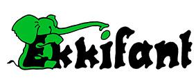 Logo der Firma Ekkifant Tiermodellagentur
