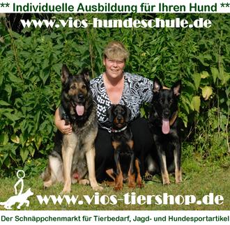 Logo der Firma VIOS-TIERSHOP - Der Schnäppchenmarkt für Tierbedarf, Jagd- und Hundesportartikel