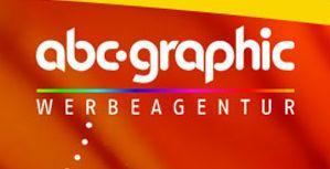 Logo der Firma abc-graphic werbetechnik Aufkleber Beschriftungen Visitenkarten Briefpapier Druck Digitaldruck