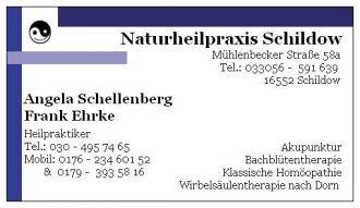 Firma Naturheilpraxis Schildow aus Muehlenbeck