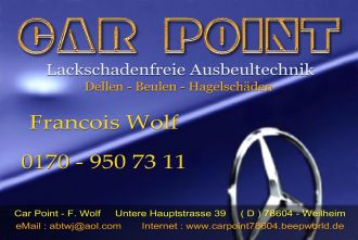 Car Point - F. Wolf bei   ( Dellen, Beule in Tuttlingen