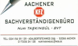 Logo der Firma AACHENER KFZ.-SACHVERSTÄNDIGENBÜRO