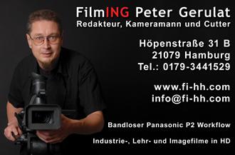 Firma Kameramann für Ihr Event aus Hamburg