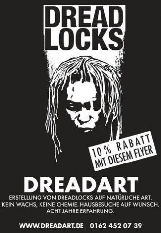 Firma Dreadart.de - Erstellung, Pflege & Reparatur von Dreadlocks Dreads Rastas aus Berlin