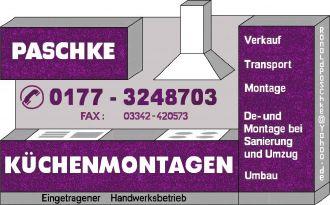 Firma Küchenmontagen Paschke aus Berlin