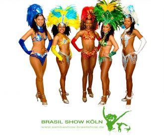 Firma Brasil Show Köln Sambatänzerin Düsseldorf Frankfurt Bonn Dortmund Mainz Sambagruppe aus Koeln