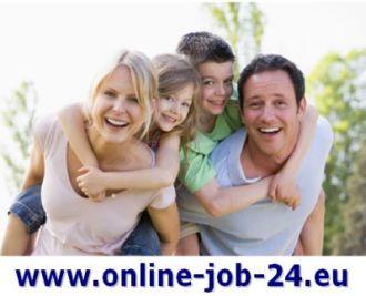 Logo der Firma Eine Möglichkeit von zu Hause aus, PC-Job, perfekte Heimarbeit für jeder Mann