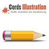 Firma Cords-Illustration aus Berlin