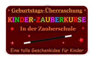 Firma Die Geschenkidee zum Kindergeburtstag, einen tollen Zauberkurs an der Sorpetaler-Zauberschule mit dem Kinderzauberer aus Dortmund. aus Dortmund