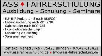 Logo der Firma Gabelstapler Fahrschule S�d
