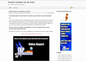 Firma DEVISEN HANDELN WIE EIN PROFI... aus Berlin