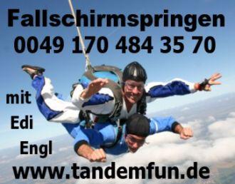 Firma Fallschirmspringen Regensburg aus Regensburg
