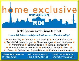 Firma RDI home exclusive GmbH aus Berlin