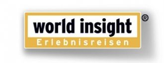 Logo der Firma World Insight Reisen - Rundreiseanbieter
