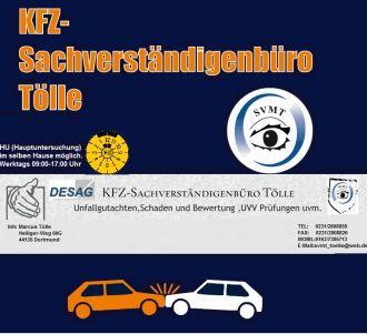 Firma KFZ Sachverständigenbüro Tölle aus Dortmund