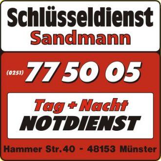 Logo der Firma Schlüsseldienst Sandmann Münster