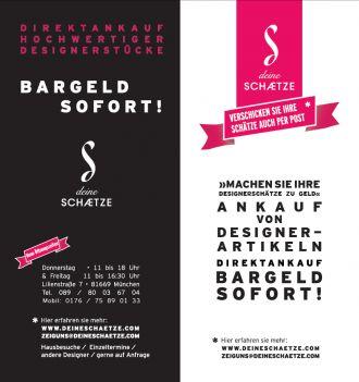Firma Deine Schätze Designer Ankauf Second Hand & Neuware aus Muenchen